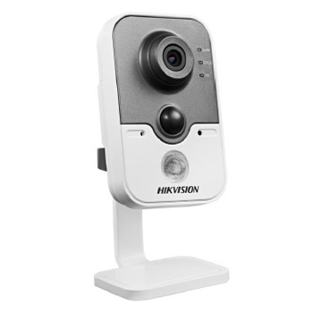 Hikvision>> Caméra Cube IP HD IR10m 1.3MP DS-2CD2412F-I
