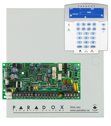 Paradox>> Kit SP 4000+Clavier LCD